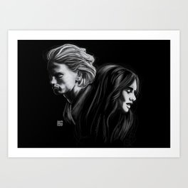 To Love Is To Destroy Art Print
