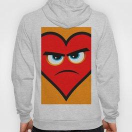 Heart Series Love Angry Hearts Love Valentine Anniversary Birthday Romance Sexy Red Hearts Valentine Hoody