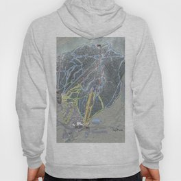 Jay Peak Resort Trail Map Hoody