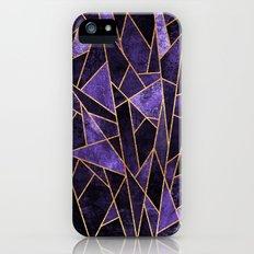 Shattered Amethyst iPhone (5, 5s) Slim Case