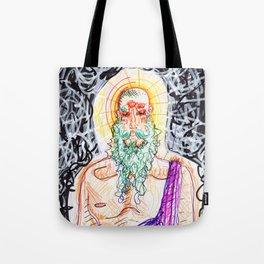 4 Eyes, Green Beard Tote Bag