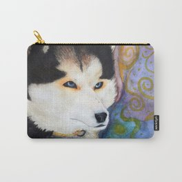 Siberian Husky Carry-All Pouch