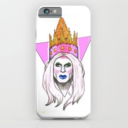 Jimbo the Drag Clown - Paper Crown iPhone Case