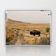 Bison Bull on Antelope Island Laptop & iPad Skin