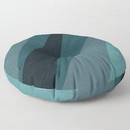 Six Shades of Sea Floor Pillow