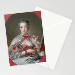 "François Boucher ""Madame de Pompadour at her Toilette"" Stationery Cards"