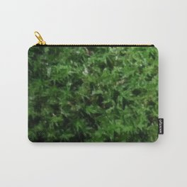 Mossy Green Ground Moss Closeup Carry-All Pouch