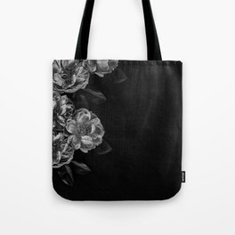 left side flowers Tote Bag