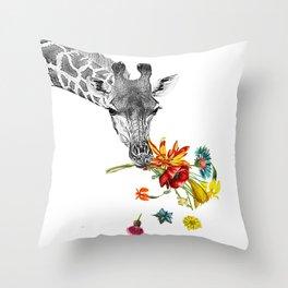 Hey! Throw Pillow