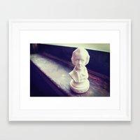mozart Framed Art Prints featuring Mozart by EleyartPhotography