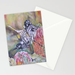 New Holland Honeyeaters Stationery Cards