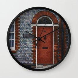 Newport Door No. 28 Wall Clock