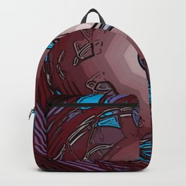 Clusterfied Red Light Backpack