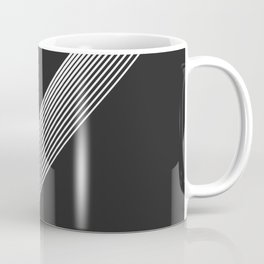White Stripes. Coffee Mug