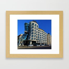 Dancing House | Frank Gehry | architect Framed Art Print