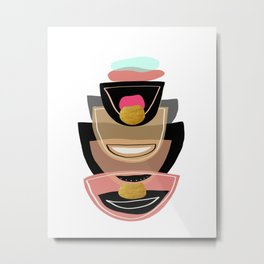 Modern minimal forms 16 Metal Print