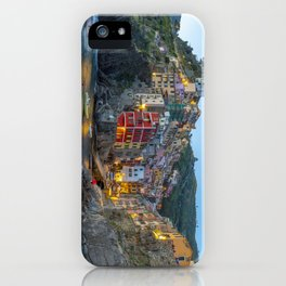 Riomaggiore of Cinque Terre iPhone Case