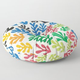 Leaf Cutouts by Henri Matisse (1953) Floor Pillow