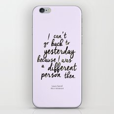 Different person iPhone & iPod Skin