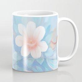 Blue Flowers Dream - Bodyart - Photography by Lana Chromium - beauty - woman - body - soul Coffee Mug