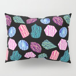 Low poly crystal pattern 1 Pillow Sham