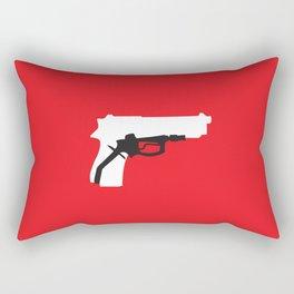 Oil Kills Rectangular Pillow