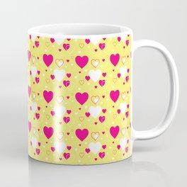 Chic Hearts Pattern 015#001 Coffee Mug