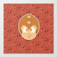 megaman Canvas Prints featuring Megaman by Kuki