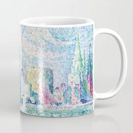 "Paul Signac ""Les Tours Vertes, La Rochelle"" Coffee Mug"