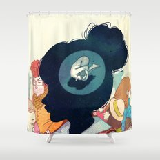 Inside Yourself Shower Curtain