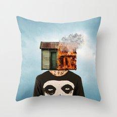 subleva Throw Pillow