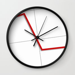 Statistic Down Wall Clock