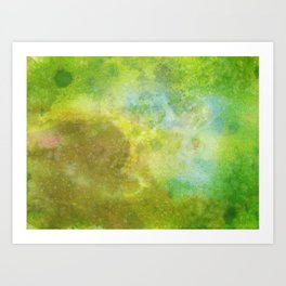 The Light at the End of the Tunnel is Obscured. Art Print
