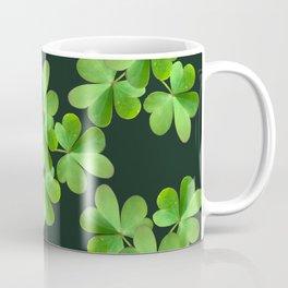Clover Print Coffee Mug