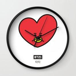 TATA by Ania Mardrosyan Wall Clock