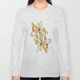 Queen Flower Long Sleeve T-shirt