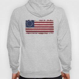 Betsy Ross flag - grungy Hoody