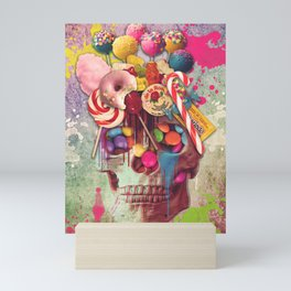 Candy Skull Mini Art Print