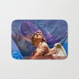 Religious Hymns of Angels Bath Mat
