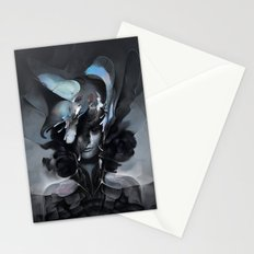 The Carrion Widow from Below the Cliffs Stationery Cards