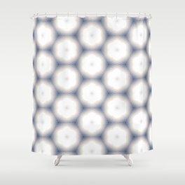 Sakura Hex by Friztin Shower Curtain