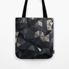 Polygon Noir Tote Bag