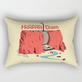 The Hoover Dam Rectangular Pillow