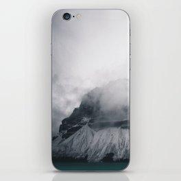 Dreary Mountain iPhone Skin