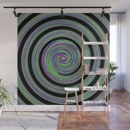 Nocturnal wave Wall Mural