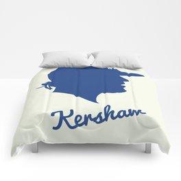 Clayton Kershaw Comforters