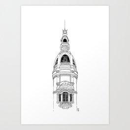 Lieu Unique, Nantes Art Print
