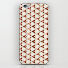 Three red pattern iPhone & iPod Skin