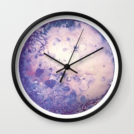 Lilac Moon Wall Clock