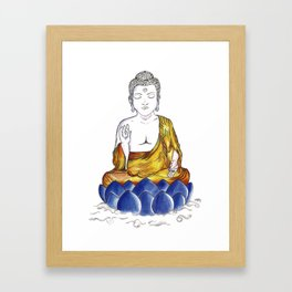 Sidarta Gautama Buda Japanese Collection Framed Art Print